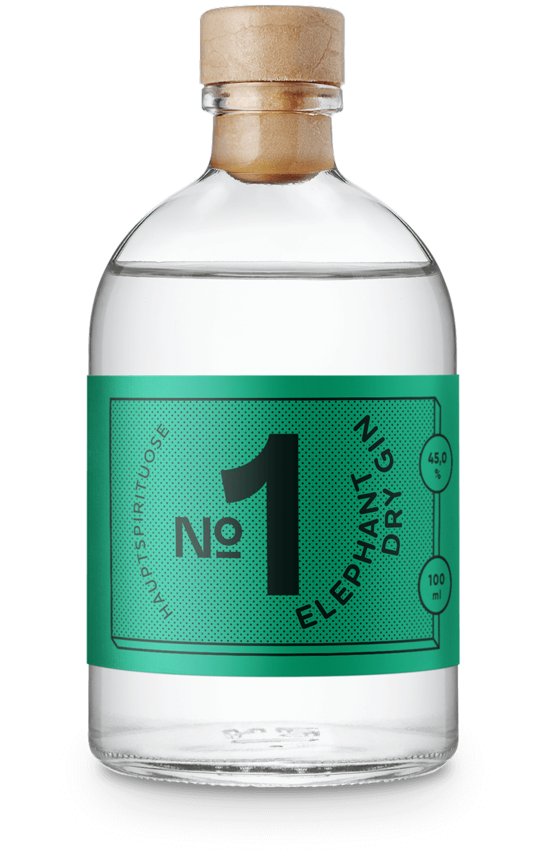 Gin und Tee Set: Elephant Dry Gin
