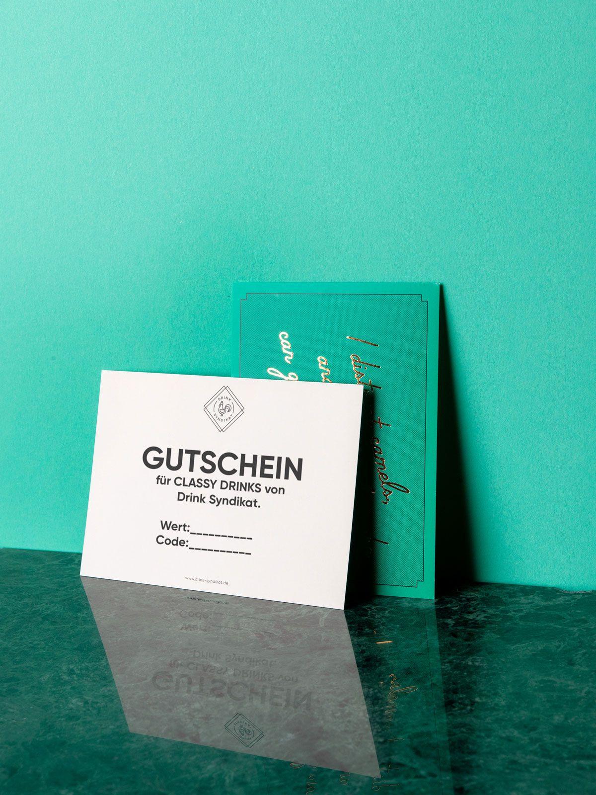 Drink Syndikat Gutschein