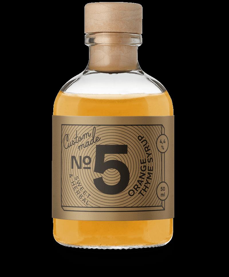 Orange Thyme Syrup
