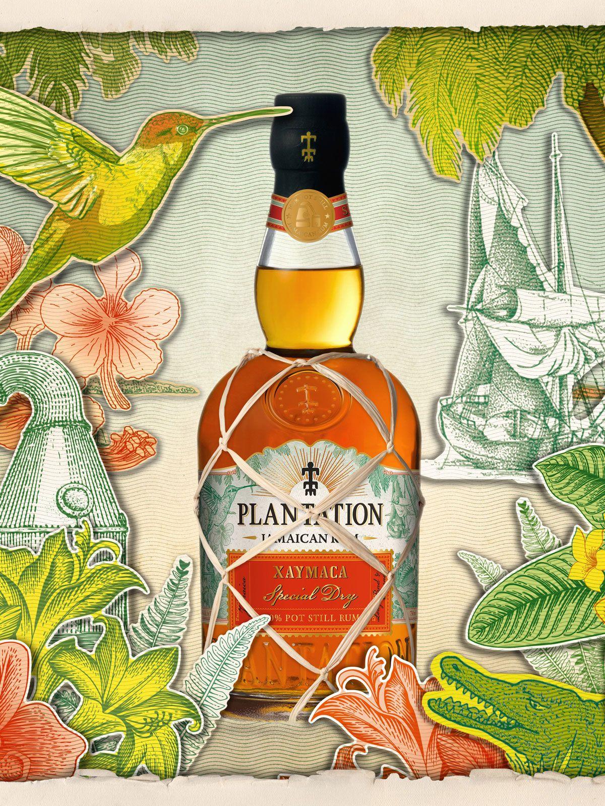Playntation Rum Xaymaca Special Dry, Zutat im Rum Geschenkset