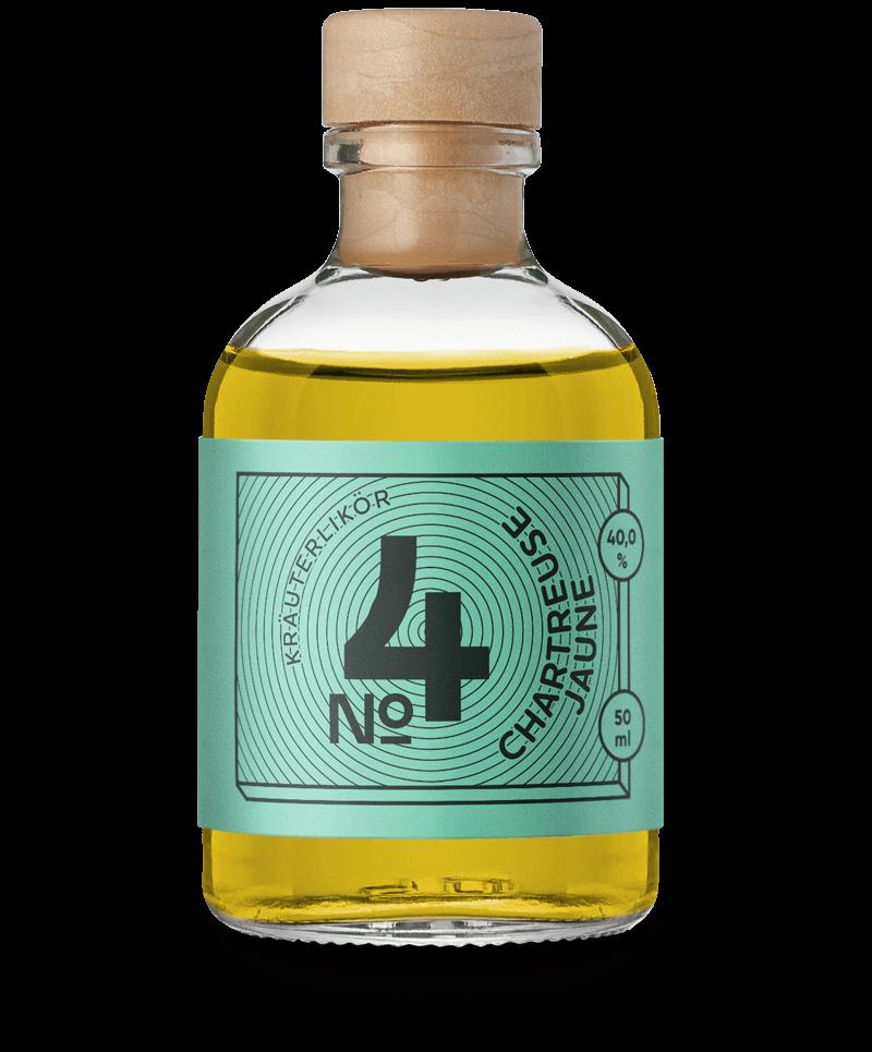 Chartreuse Jaune - aus dem Drink Syndikat Cocktail Set mit Zutaten und Rezepten