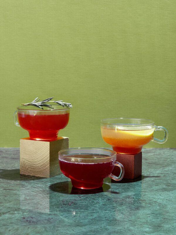 Hot Toddy Cocktail Set mit Zutaten und Rezepten: Expertenmodus Glühwein Deluxe Drink Syndikat