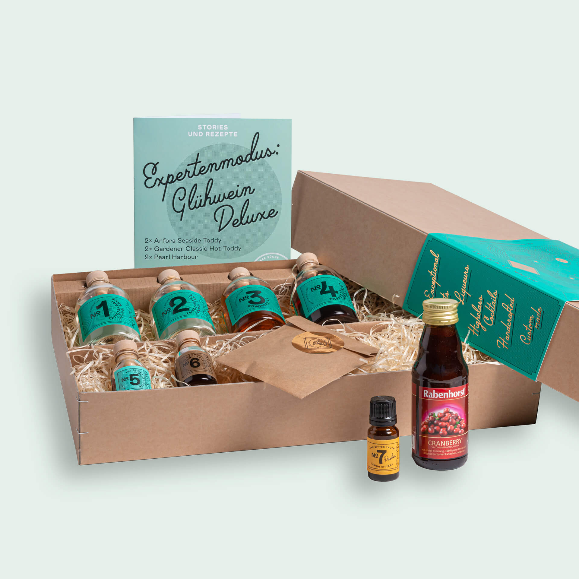 Hot Toddy Cocktail Set: Expertenmodus Glühwein Deluxe Drink Syndikat