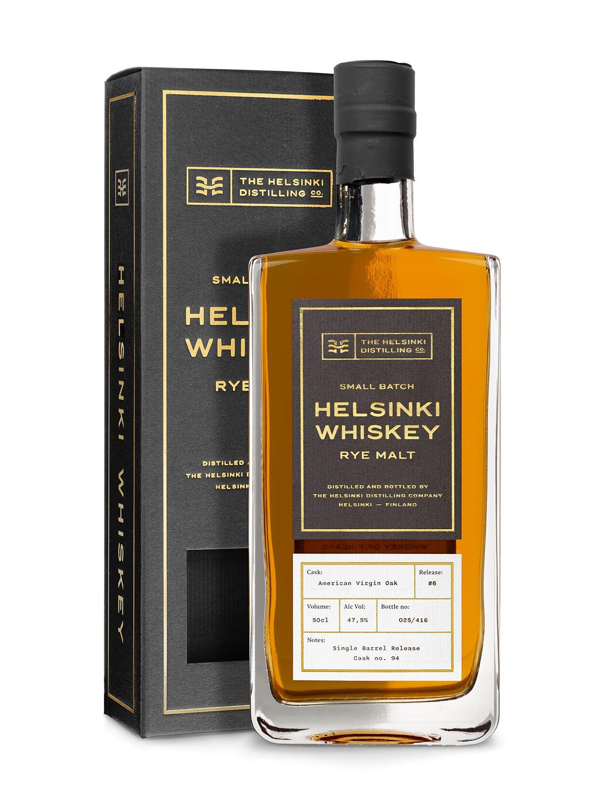 Helsinki Rye Malt Whisky