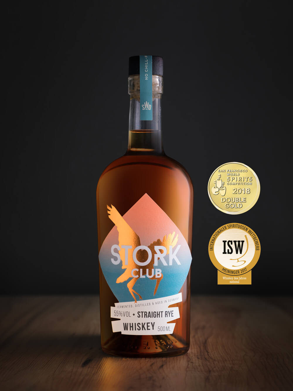 Stork Club Whisky - Full Proof Rye Whiskey