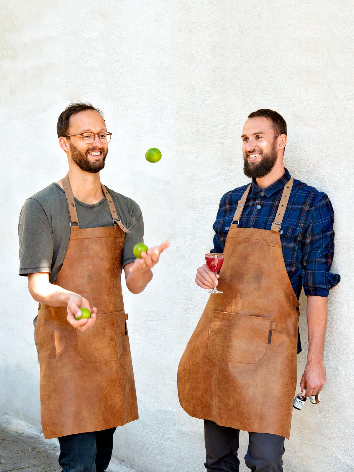 Drink Syndikat Gründer: Erik Pfauth und Jens Hoffmann.