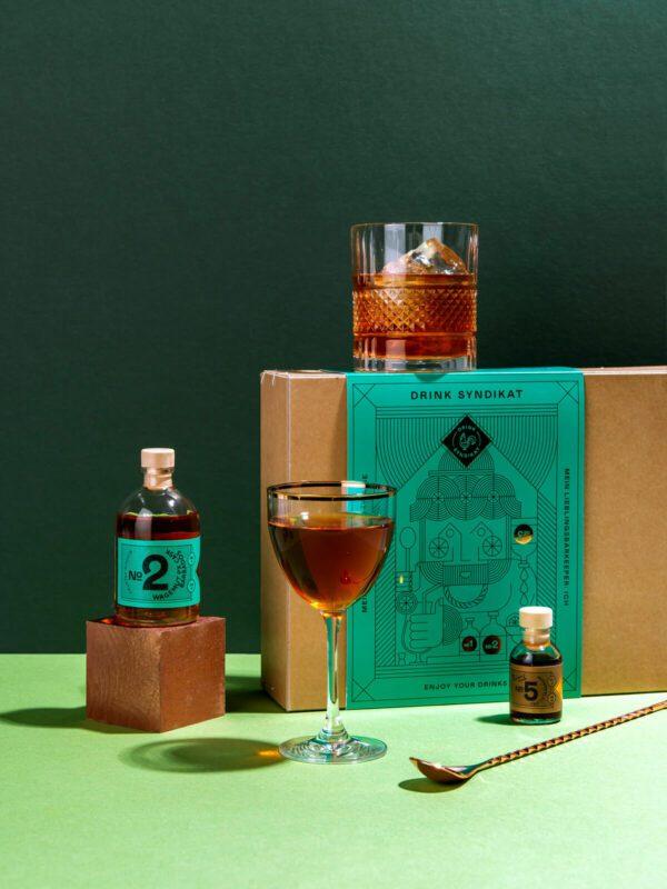 Cocktail Set von Drink Syndikat - Cocktail Geschenksets mit Gin, Whisky, Rum und anderen Spirituosen