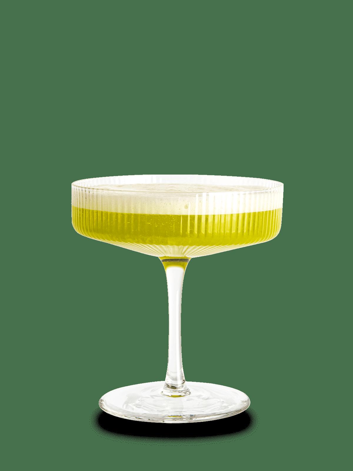 Rezept Gin Basil Cocktail Green Lady