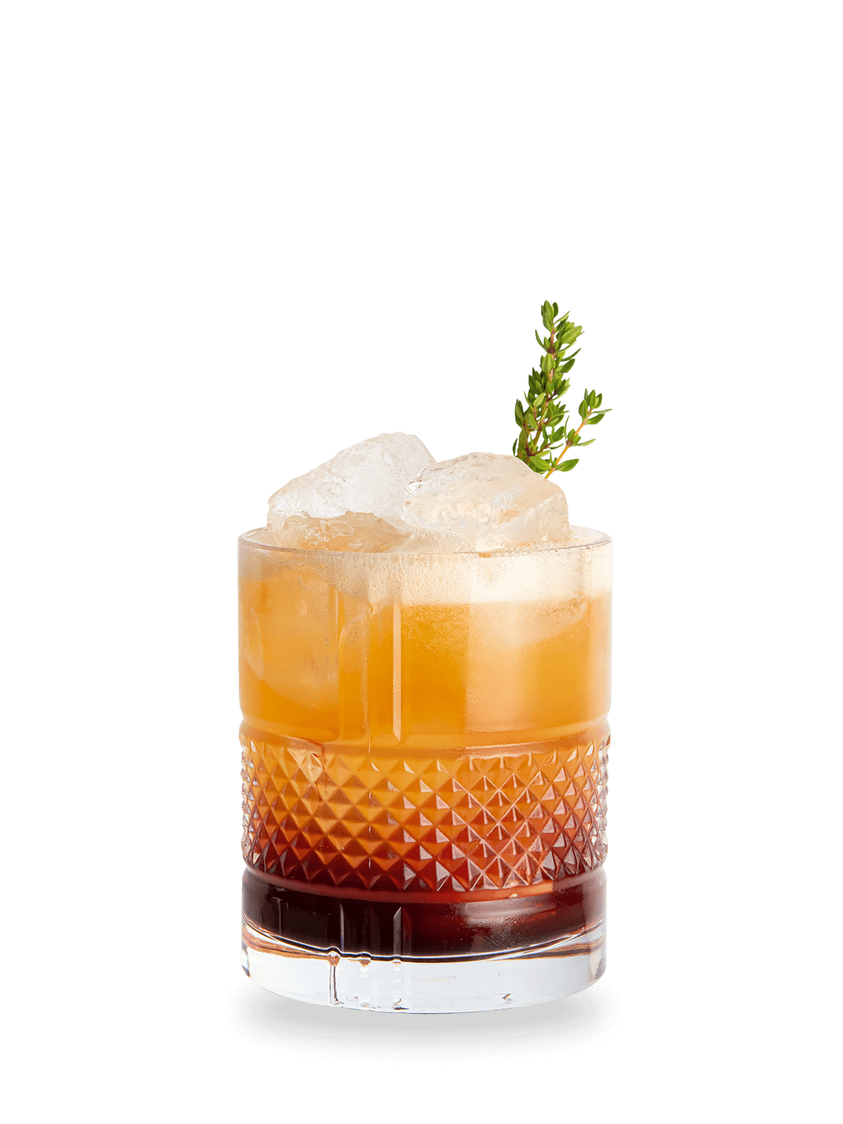 Rezept Whisky Cocktail Nordic Sour mit Maker's Mark Bourbon