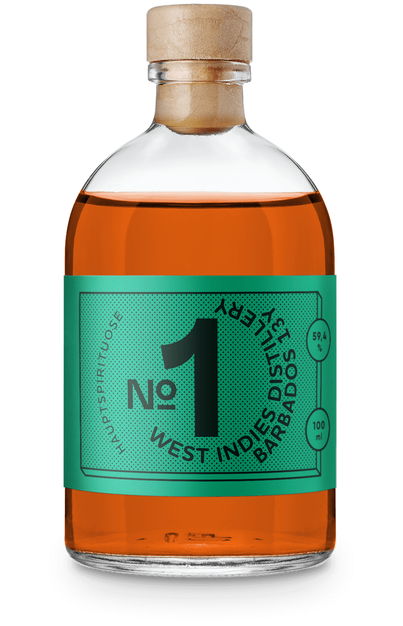 West Indies Distillery Barbados 13 Years - von Nicolas Kröger, aus dem Drink Syndikat Cocktail Set
