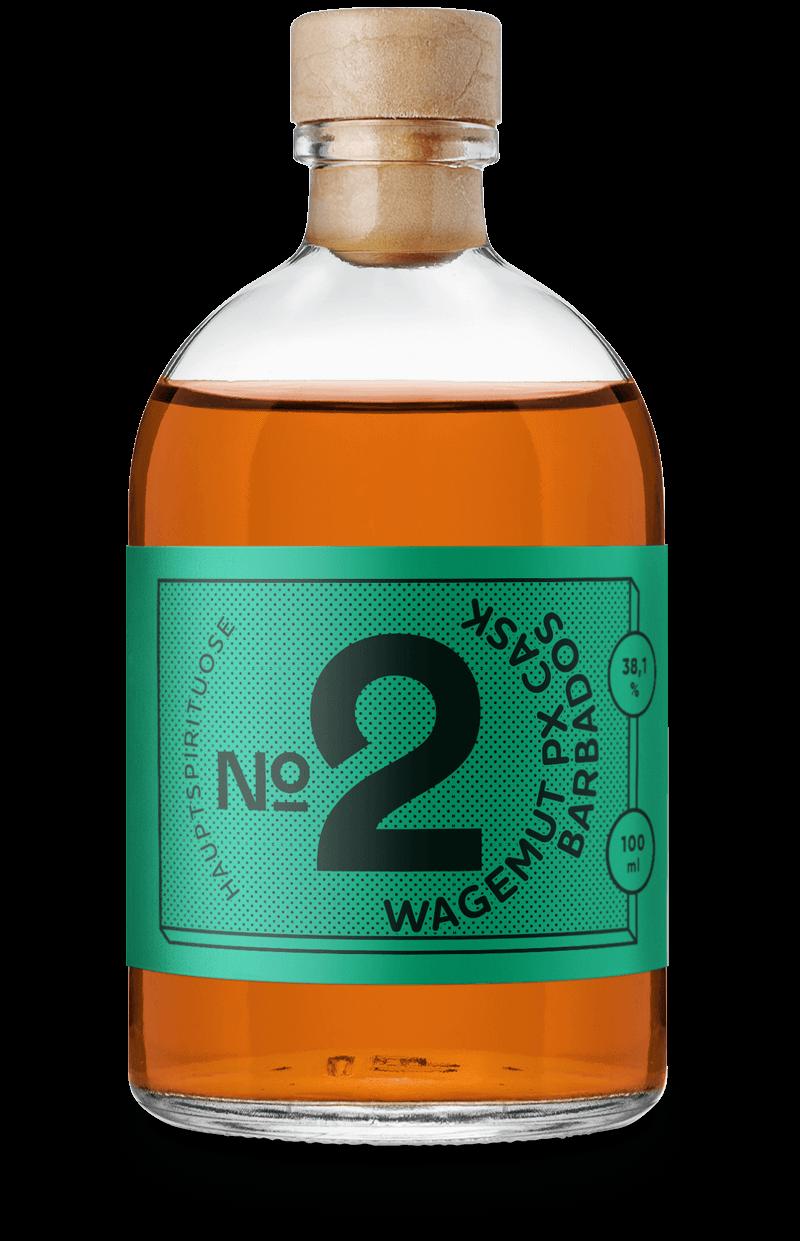 Rum Geschenkset für 6 feine Rum Old Fashioneds: Wagemut PX Cask Barbados