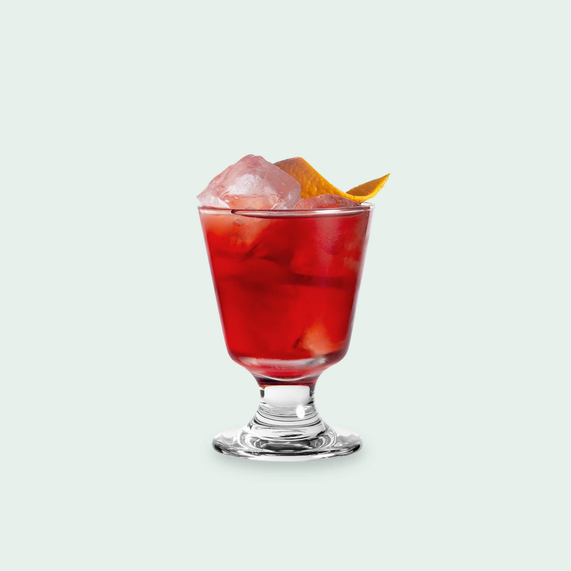 Cedar Smoked Negroni - Smoked Gin Cocktail