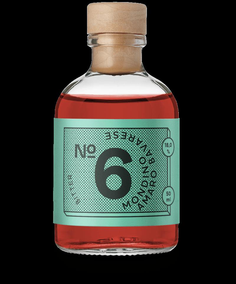 Mondino Amaro Bavarese - Zutaten im Gin Geschenkset von Drink Syndikat