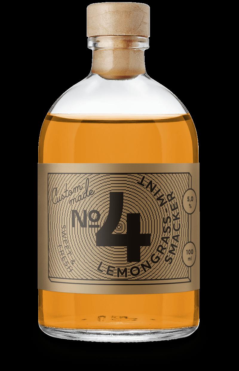 Lemongrass Mint Smacker: Wildberry Cocktails