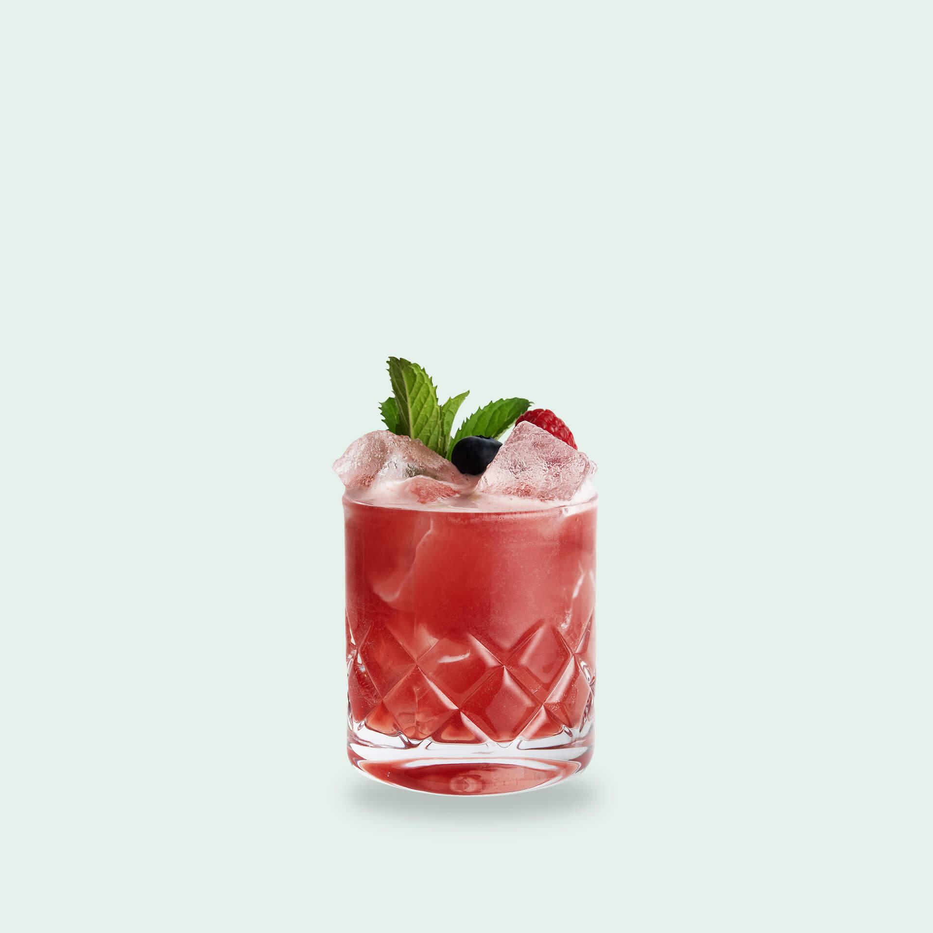 Foresutoberi aus dem Wildberry Cocktail Set von Drink Syndikat
