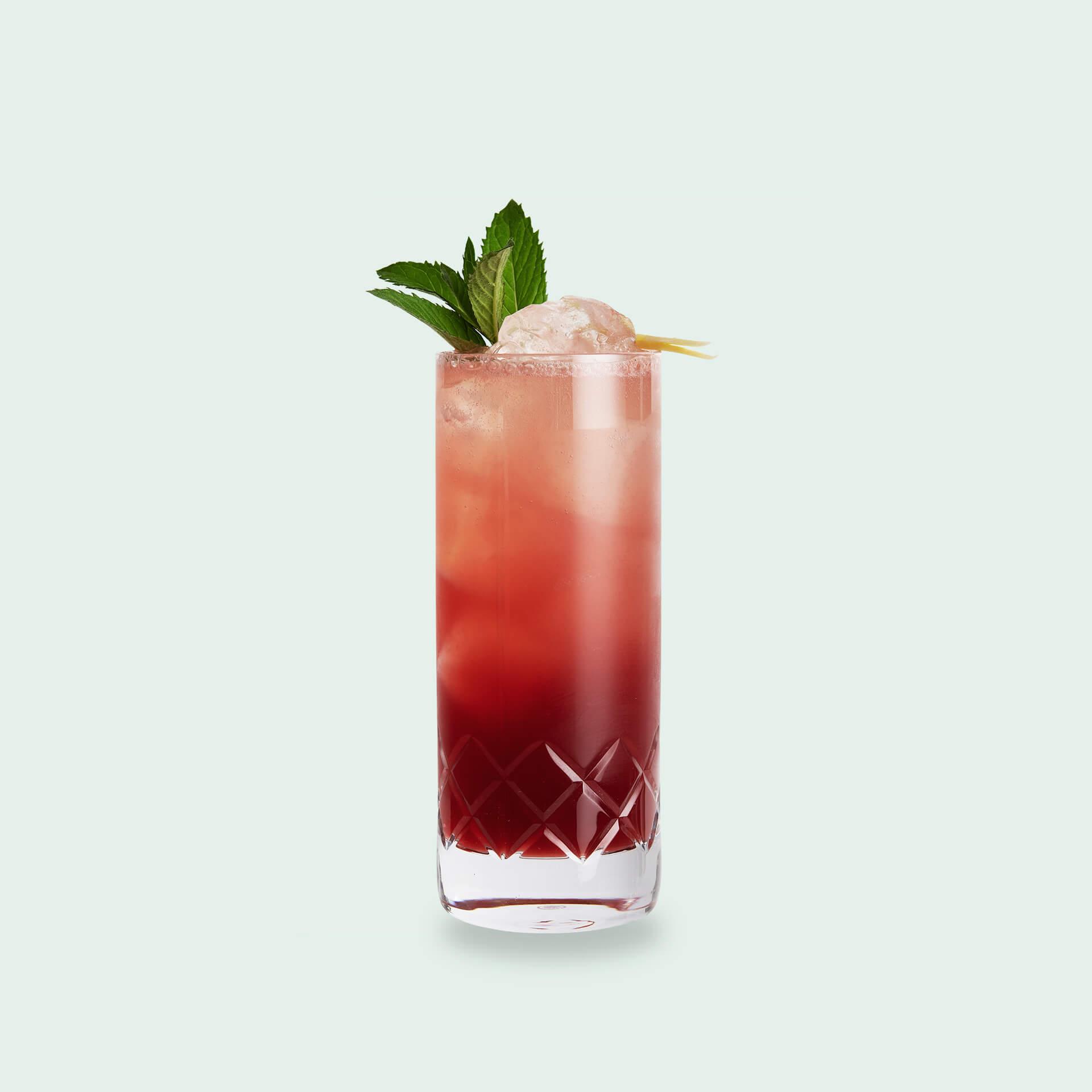 Moscow Mule Variante mit Waldbeeren: Wildberry Mule von Drink Syndikat