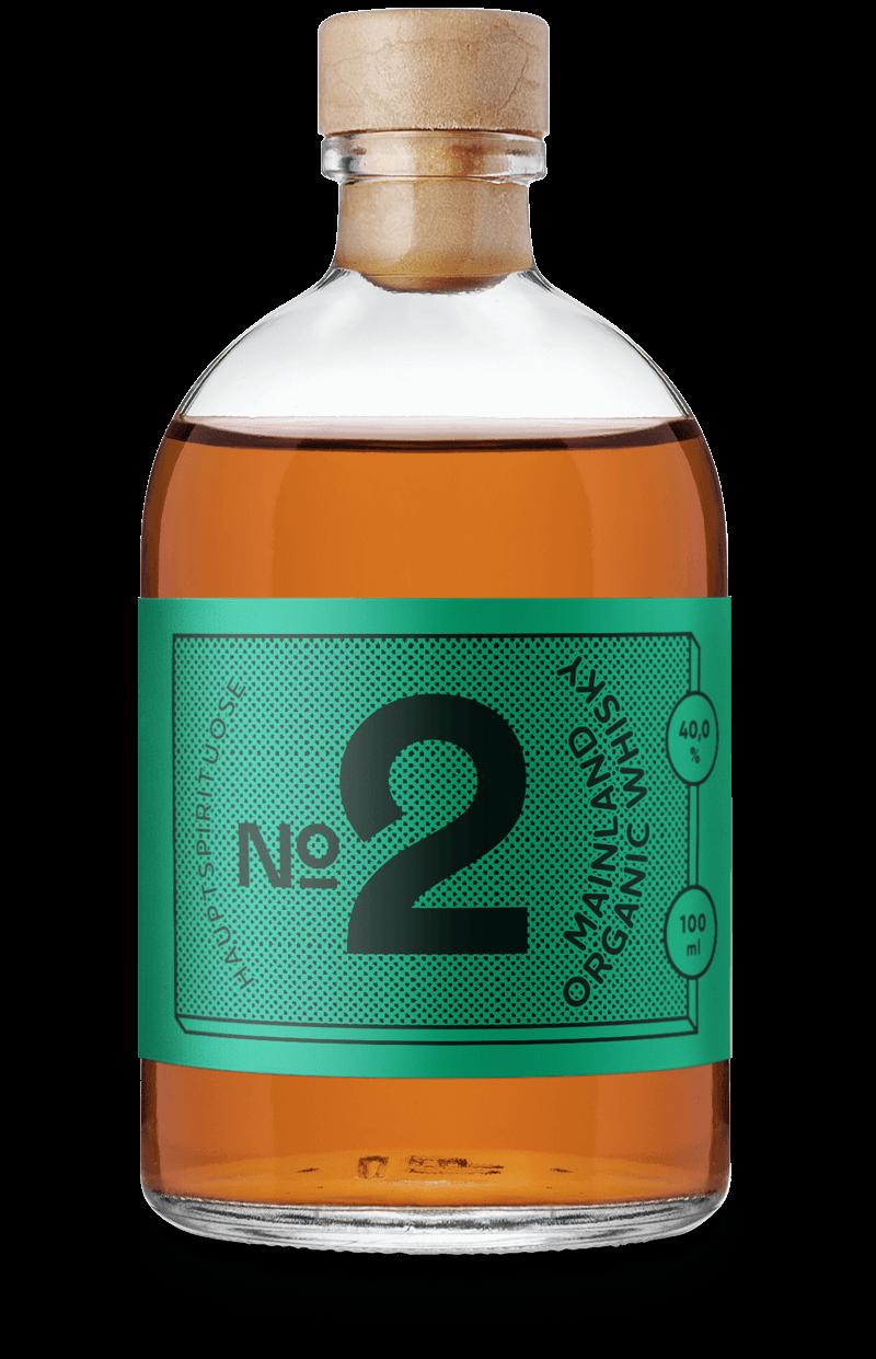 Mainland Whisky Organic im Cocktail Set von Drink Syndikat