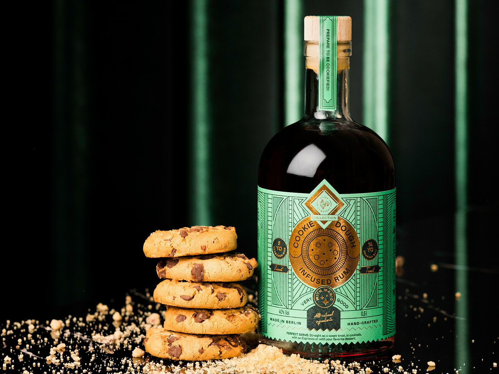 Die perfekte Dessert-Spirituose: Cookie Dough Infused Rum