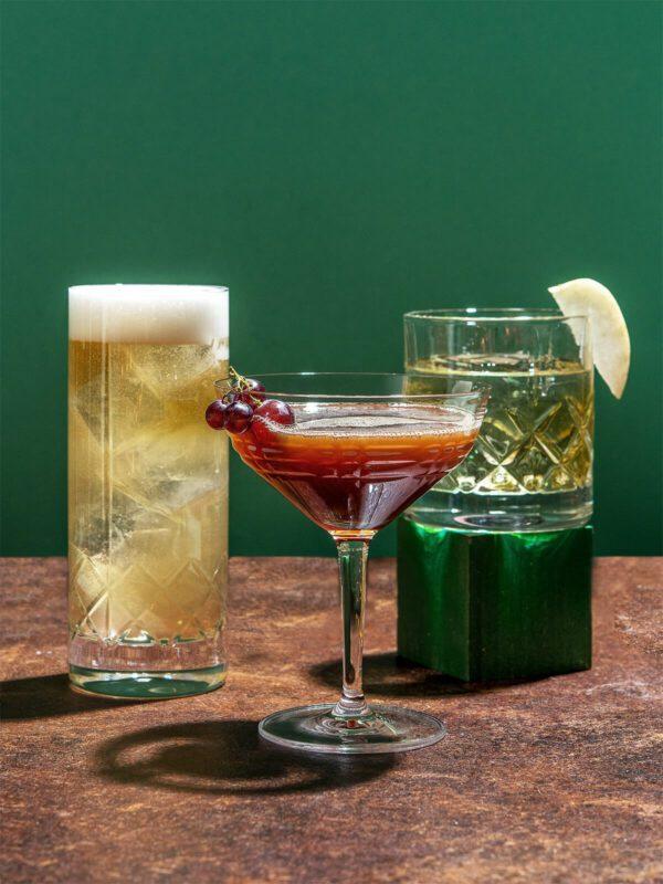 Single Origin: Cocktail Set mit Williams Christ, Korn und Brandy