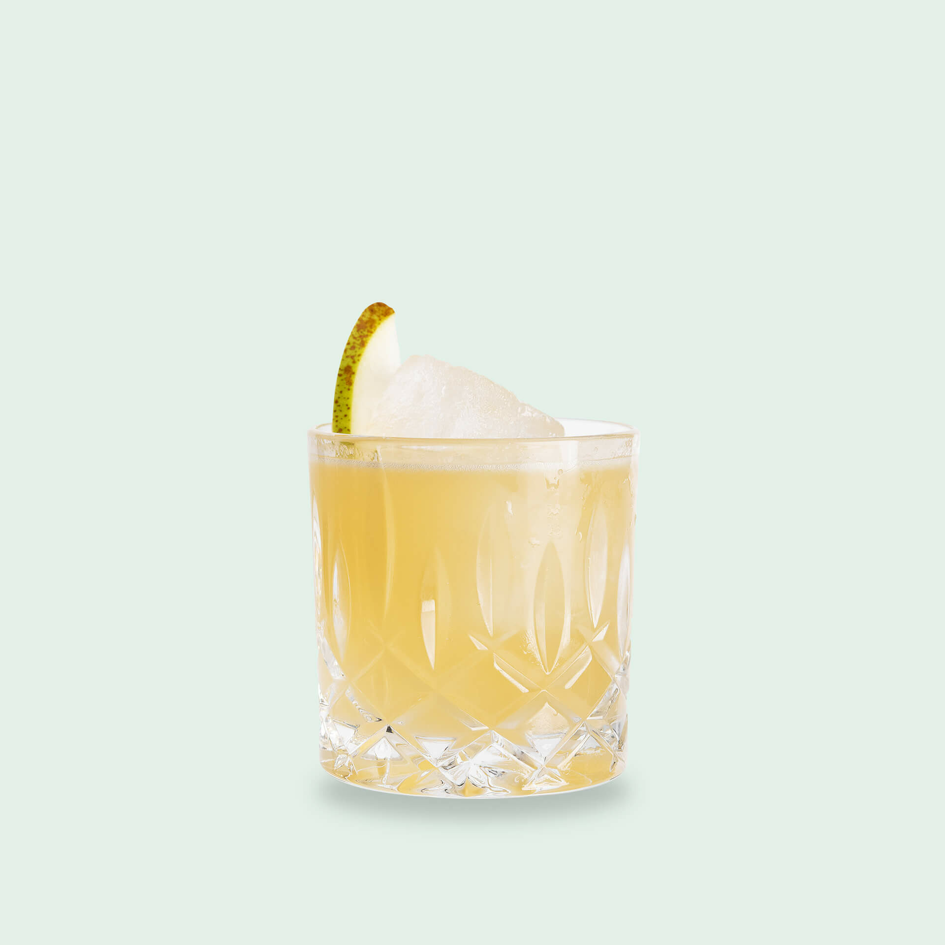 Whiskey Sour mit Birne - Crossing Borders