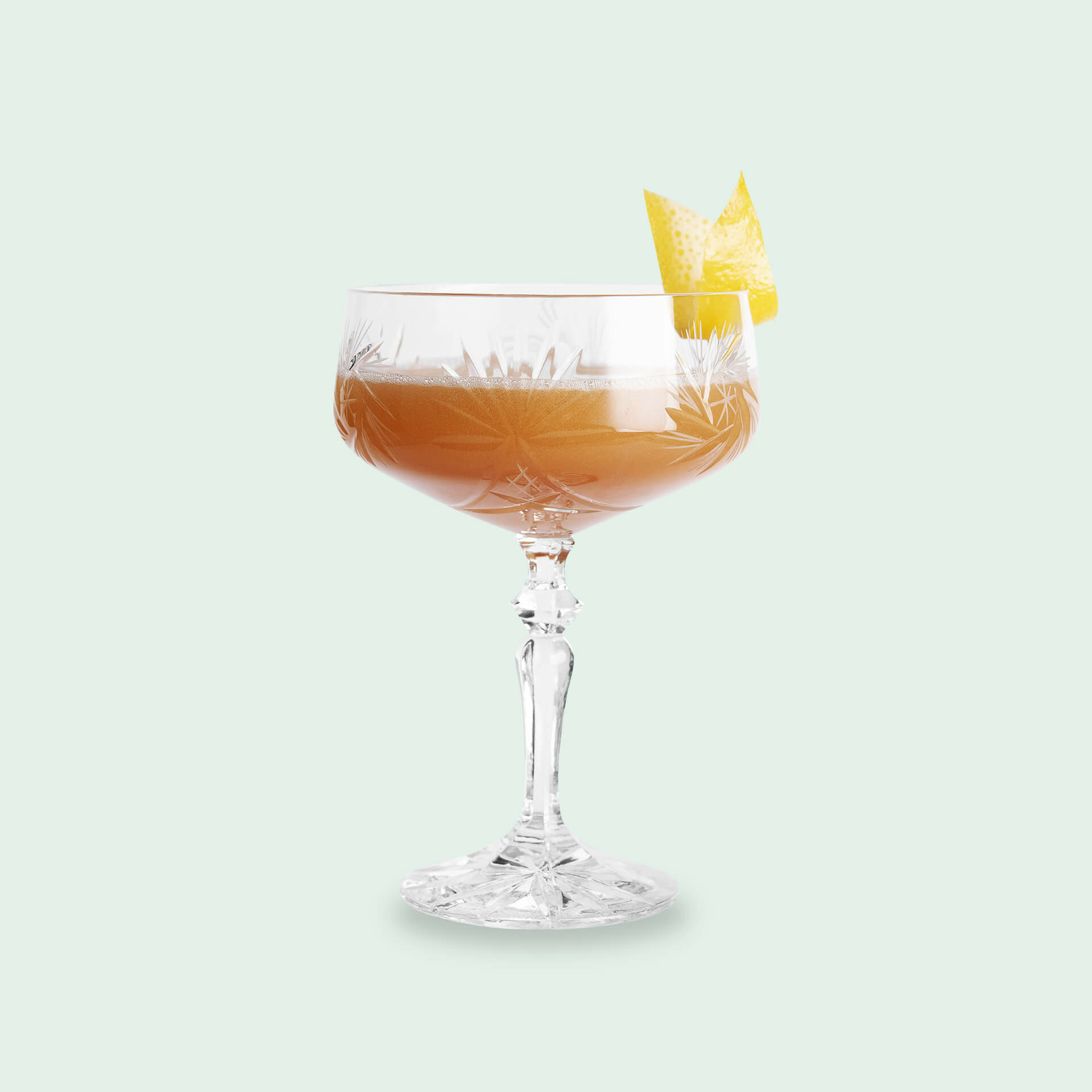 Twisted Scofflaw Whisky Cocktail
