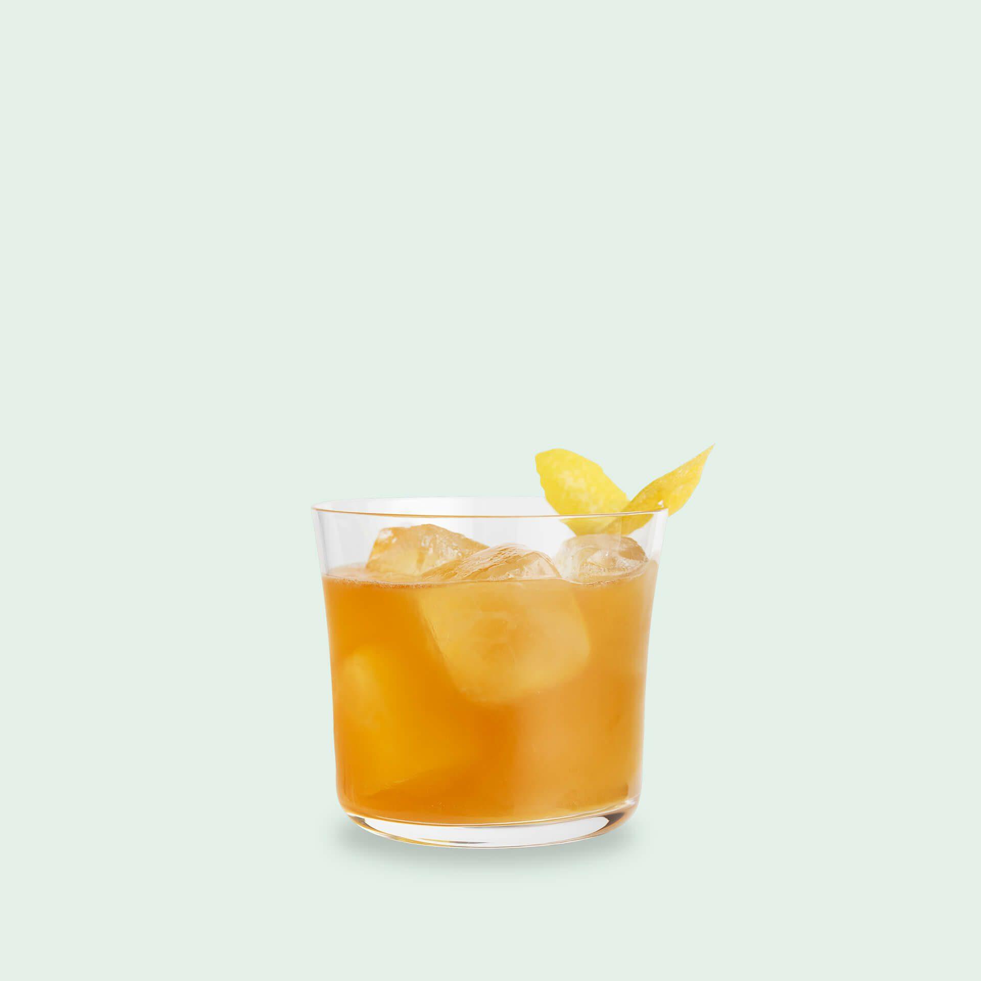 Cocktail mit Aufbix Gin von Drink Syndikat: Uzwar