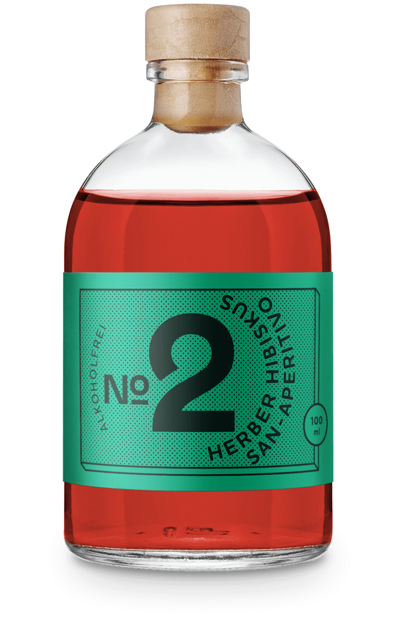 Dr. Jaglas Herber Hibiskus - Campari Alternative alkoholfrei