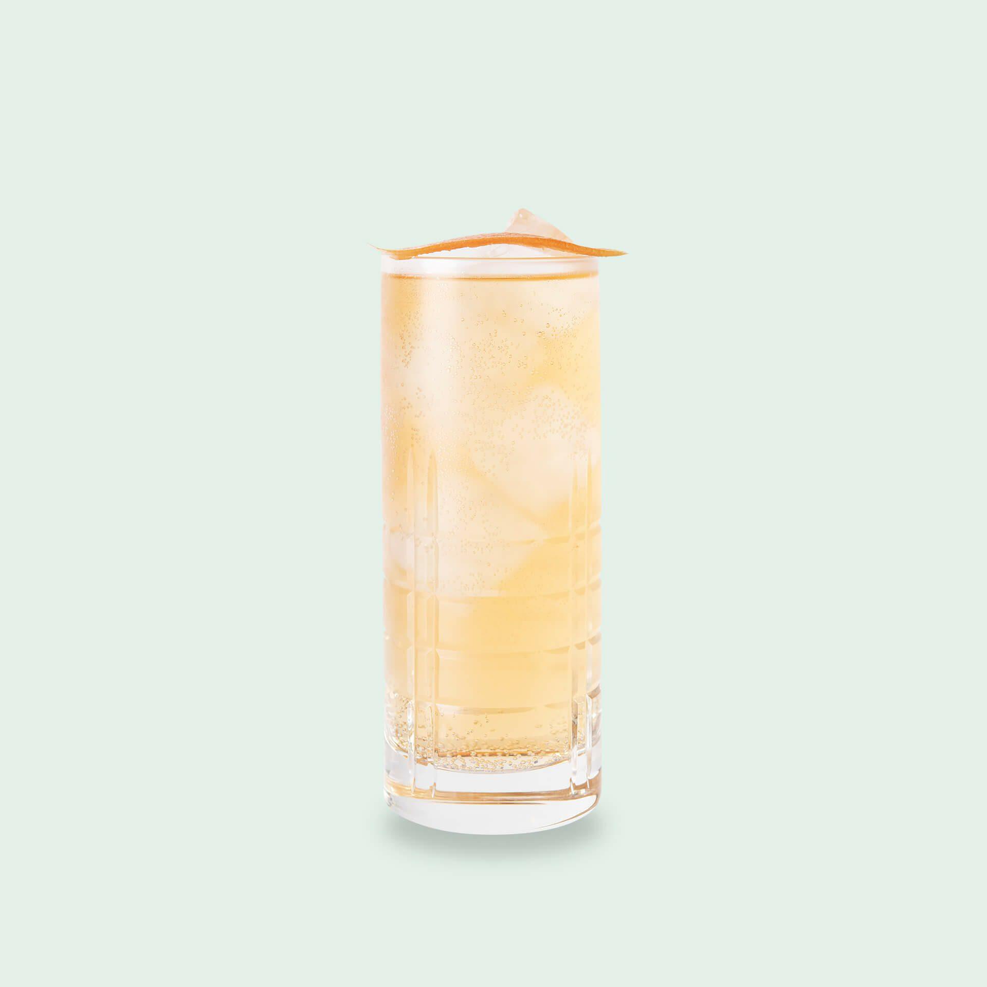 Gin Tonic alkoholfrei - Momotaro Gin, Dr Jaglas Herber Hibiskus, Aqua Monaco Herbal Tonic