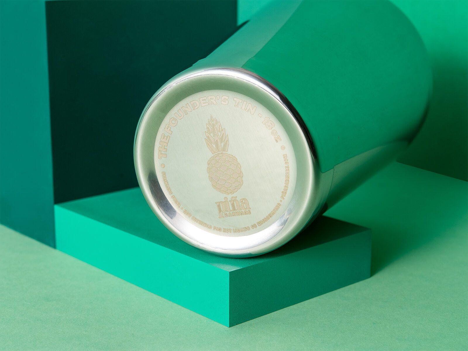 Cocktail Shaker von Pina Barware - Tin in Tin - Drink Syndikat Collection